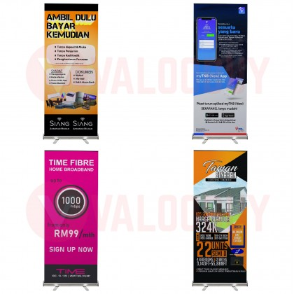 Roll Up Bunting Stand + Bunting Printing