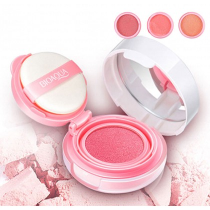 Bioaqua BB Cushion Blusher Smooth Muscle Flawless 12g (Ready Stock)