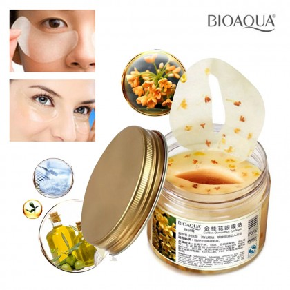 Bioaqua 80pcs Eye Mask Golden Osmanthus (Ready Stock)