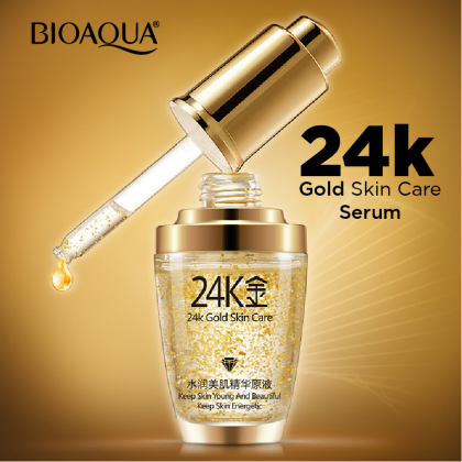 BIOAQUA 24K Mosturizing Gold Essence Dope (Ready Stock)