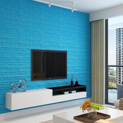 8mm 3D Wallpaper Brick 70x77cm