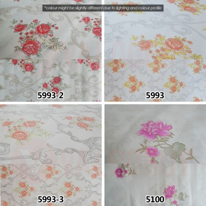 45cm*10m 2D Wallpaper Roll Sticker 1