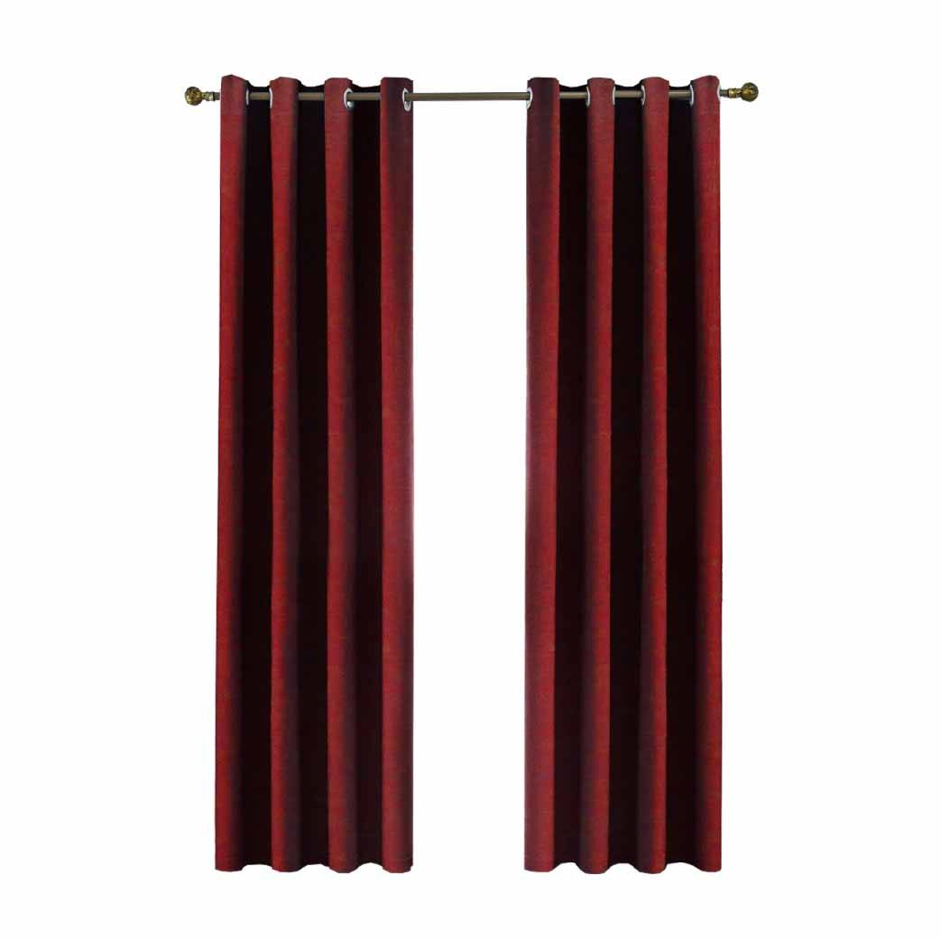 Curtain Langsir Raya Ring Hook 80 Blackout