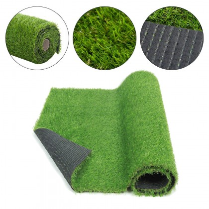 [1m x1m]25 MM Artificial Grass Carpet Grass Synthetic Green Rumput Premium
