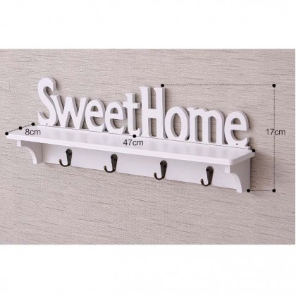 SWEET HOME Rack Key Holder