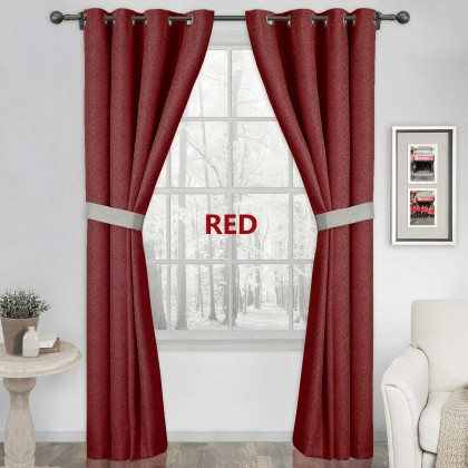 Curtain Luxury RING/HOOK 90% Blackout