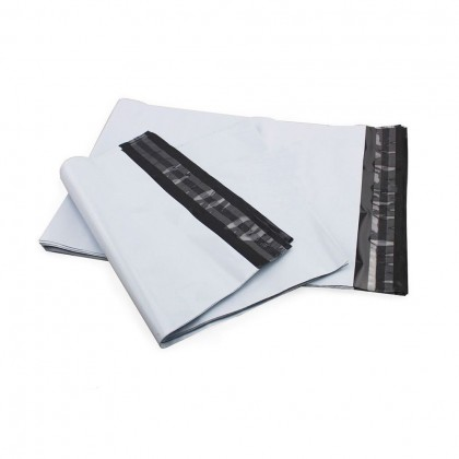 100pcs - A3 (30*45cm) / A4 (26*33cm) Courier Bag Courier Flyer with Consignment Pocket Plastick READY STOCK